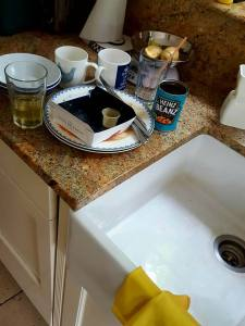 Goodbye to all those time when your teenager 'cleaned up their room' and left your kitchen like this...
